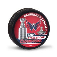 Washington Capitals NHL 2018 Stanley Cup Champions Souvenir Hockey Puck Packaged