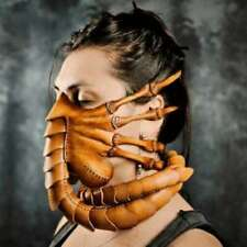Halloween Party Scary Gesichtsmaske Scorpion Horror Alien Facehugger Latex Maske
