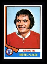 "1974-75 TOPPS ""MICHEL PLASSE"" SCOUTS #257 NM-MT (COMBINED SHIP)"