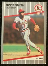 1989 Fleer Ozzie Smith #463 Baseball Card St. Louis Cardinals