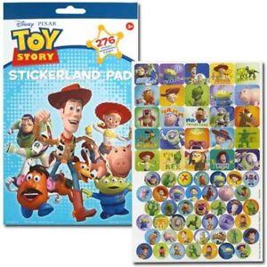 200+ Stickers Disney Toy Story Woody Buzz & Friends Reward Party Favor NEW