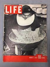 LIFE MAGAZINE AUGUST 2, 1937 SISTER MAKING SALAD HINSDALE ILLINOIS FRANCIS FARM