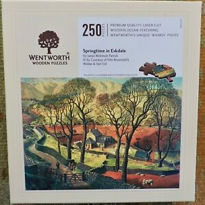 Wentworth wooden jigsaw puzzles 250 Springtime in Eskdale complete