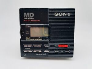 MD1882 working  SONY PORTABLE MINIDISC RECORDER MZ-R90  Black