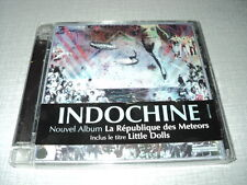 INDOCHINE CD LA REPUBLIQUE DES METEORS ***AVEC STICKER***