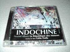 INDOCHINE CD LA REPUBLIQUE DES METEORS ***AVEC STICKER***