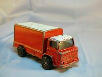 VINTAGE CORGI JUNIORS LEYLAND TERRIER RED LORRY COMMERCIAL DELIVERY  TRUCK TOY