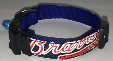 Atlanta Braves Collar Dog Pet Pro Football Fan Team Game Gear NFL Shop New Small
