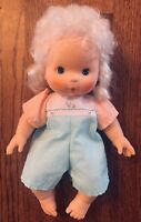 """Vtg 1982 Baby Apricot Blow Kiss Doll 14"""" Kenner American Greetings With Outfit"""
