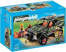 PLAYMOBIL 5558 - Pick-up des aventuriers neuf et en emballage d'origine
