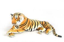 Tigre en peluche  135 cm  Grand tigre allongé de Qualité   Très doux et Réaliste