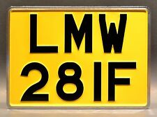 The Beatles / Abbey Road Album Cover / LMW 28IF *STAMPED* Replica License Plate