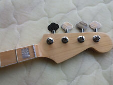 Electric Guitar Neck JAZZ bass  Maple Wood 20 Fret Replacement parts and tuners