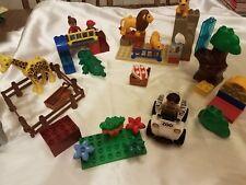 Lego Duplo 5634 Feeding Zoo Lion Family Elephant Giraffe Crocodile Zookeeper
