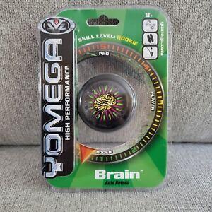 Yomega Brain (Black) High Performance Yo-Yo - Rookie Level 1  Auto Return Clutch