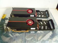 LOTTO di 2 MIX Dell ATI Radeon HD 5770 1GB scheda video PCI Dual DVI 0GCJ42 08PJF8