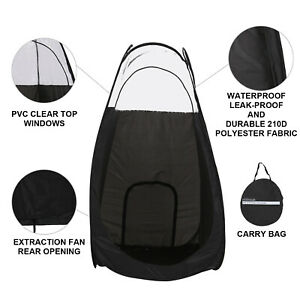 Portable Pop Up Spray Tanning Tent & Carry Bag For Outdoor Camping Hiking