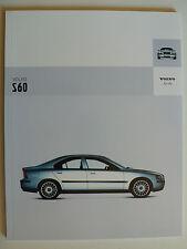 Prospekt Volvo S60, 2004, 66 Seiten