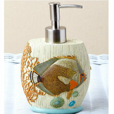 Tropical Fish Bathroom Decor Ideas For Beach Kitchen Hand Soap Lotion Dispenser