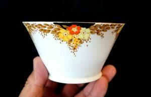 Beautiful Bell China Art Deco Sugar Bowl