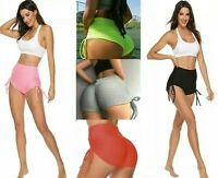 Women's Gym Shorts Bowtie strings