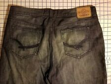 Ecko unltd. DENIM FOUNDRY 40 x 14 shorts blue casual baggy loose hang em high