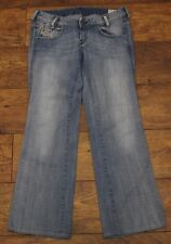 "DIESEL Ladies Blue Denim RYOTH Bootcut JEANS Size Waist 29"" - Leg 30"""