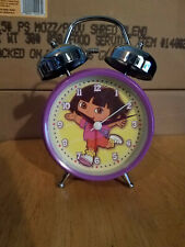 Dora The Explorer Twin Bell Alarm Clock New By Avon