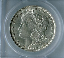 "$1 Top 100 Morgan silver dollar 1880 VAM 1A ""Knob 8"""
