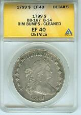 1799 Bust Silver Dollar. Great Type Coin!