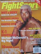 2002 FIGHTSPORT MAGAZINE MICHAEL MCDONALD PHIL BARONI KARATE KUNG FU MARTIAL ART