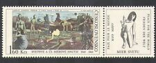 Czechoslovakia 1969 Peace Movement/Art/Paintings/Artists/Horse/Birds 1v (n37085)