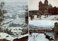 Peru - Cusco/Cuzco  -  Parcial view - main square and church of the Compania