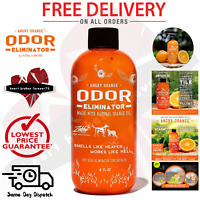 Angry Orange Pet Odor Eliminator Dog and Cat Urine Makes 1 Gallon of Solution US