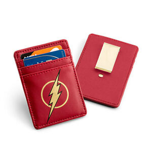 The Flash Justice League Card Wallet with Money Clip