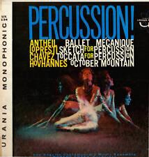 CLASSICAL LP PERCUSSION ANTHEIL CHAVEZ HOVANNES LOPRESTI