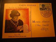 Carte postale - Journée du timbre 1945 - 1er jour - Rennes