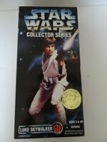 STAR WARS COLLECTOR'S SERIES LUKE SKYWALKER REBEL ALLIANCE ACTION FIGURE NIB.