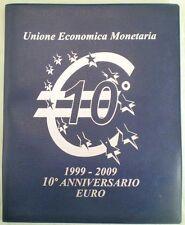 20 x 2 EURO 10° Anniversario EMU UME (5 Germania) Completo 1999-2009 Master Phil