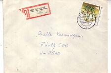 BRD Einschreiben Brief : 1260 Strausberg 2 vom 11.06.1991