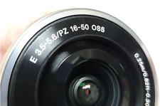 New Sony SELP1650 16-50mm F/3.5-5.6 PZ OSS Lens Silver -Bulk package