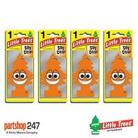 4 x Silly Citrus Little Trees Magic Tree Car Home Air Freshener Freshener