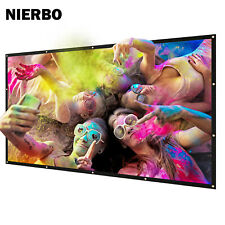 """60''-300"""" Metal Projector Screen Ambient Light Rejecting 2.4 Gain Movie Screen"""