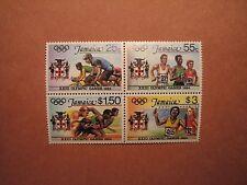 Jamaica Stamp Scott# 577-80 Summer Olympics 1984 MNH Blk. of 4 C49