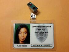 CSI Miami TV Show ID Badge - Alexx Woods Prop cosplay costume