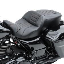 Sitzbank für Harley Street Glide 14-20 Craftride TG3 Keder schwarz