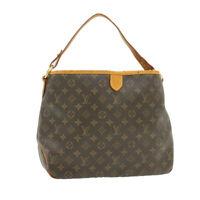 LOUIS VUITTON Monogram Delightful MM Shoulder Bag M40353 LV Auth 16326