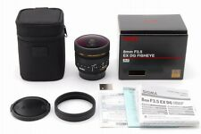 [MINT in Box] Sigma EX DG 8mm f/3.5 EX DG Fisheye Lens for Nikon from Japan