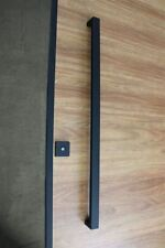MATTE BLACK ENTRANCE FRONT DOOR BARN PULL HANDLE DOUBLE SIDED ENTRY HANDLE