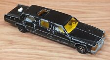 Genuine Majorette Limousine (No 339) Ech. 1/58 Black Metal Car *Made In France*
